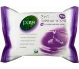 Pure 3v1 Odličovací vlhčené ubrousky 25 ks