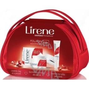 Lirene Folacin Advanced 50+ denní krém + oční krém a taštička, kosmetická sada
