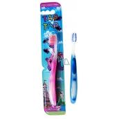Abella Tap Tap Kids střední zubní kartáček různé barvy pro děti 1 kus TK003