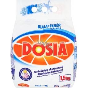 Dosia Bílá prací prášek na bílé prádlo 15 dávek 1,5 kg
