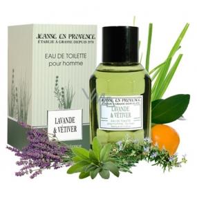 Jeanne en Provence Men Lavande & Vétiver toaletní voda 100 ml