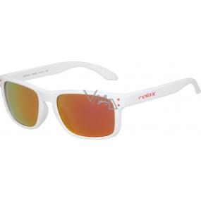 Relax Melite Sluneční brýle pro děti R3067C bílé