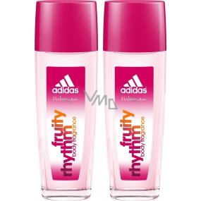 Adidas Fruity Rhythm parfémovaný deodorant sklo pro ženy 2x75 ml, duopack