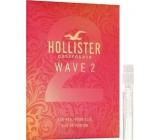Hollister Wave 2 for Her parfémovaná voda 2 ml s rozprašovačem, Vialka