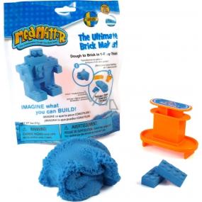 Mad Mattr Kinetický písek modelovací Formička Vytvoř cihličku modrá 57 g