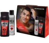 Dermacol Men Agent Sexy Sixpack sprchový gel 250 ml + antiperspirant sprej 150 ml, kosmetická sada