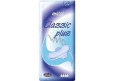 Micci Classic Plus intimní vložky s křidélky 10 ks
