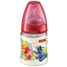 Nuk Disney First Choic láhev plastová 0-6 měsíců velikost 1 = mléko 150 ml