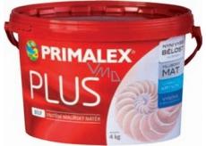 Primalex Plus Bílý vnitřní malířský nátěr 4 kg