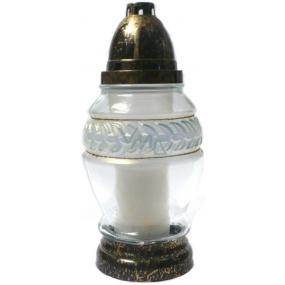 Rolchem Lampa skleněná Střední 22 cm Z-29