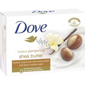 Dove Purely Pampering Bambucké máslo a vanilka toaletní mýdlo 100 g