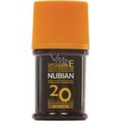 Nubian OF20 Olej na opalování, střední ochrana 60 ml