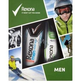 Rexona Quantum antiperspirant deodorant sprej pro muže 150 ml + Cool Ice sprchový gel 250 ml, kosmetická sada