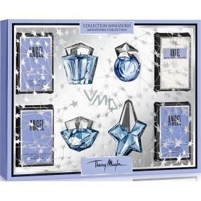 Thierry Mugler Angel Miniatures Collection parfémovaná voda 3 x 5 ml + toaletní voda 3 ml, dárková sada