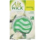 Air Wick Crystal Air Bílé květy osvěžovač vzduchu 5,75 g