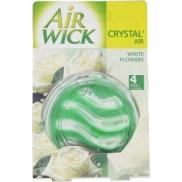 Air Wick Crystal Air lehká vůně bílých květů osvěžovač vzduchu 5,75 g