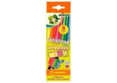 Jolly Sada pastelek neonová 8 kusů