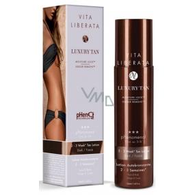 Vita Liberata pHenomenal Samoopalovací mléko na tvář a tělo pro 2-3 týdenní opálení Dark - tmavý 200 ml
