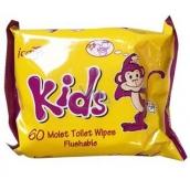 Icare Kids dětský vlhčený toaletní papír pro děti 60 kusů