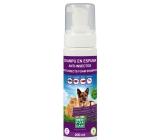 Menforsan přírodní repelentní pěnový šampon pro psy a kočky 200 ml