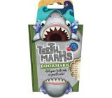 If Teeth Marks Bookmarks Zubatá záložka Žralok 97 x 17 x 200 mm