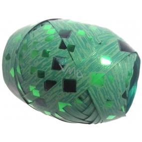Nekupto Klubíčko Luxus zelené s kosočtverci 1 cm x 10 m