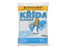 Kittfort Křída plavená, přísada pro zvýšení bělosti nátěrů, plnivo do tmelů, barev a jiných stavebních směsí 750 g