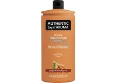 Authentic Toya Aroma Ginger & Lemongrass tekuté mýdlo náhradní náplň 600 ml