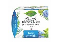 Bione Cosmetics Kozí syrovátka pleťový krém proti vráskám s koenzymem Q10 51 ml