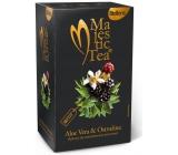 Biogena Majestic Aloe Vera & Ostružina aromatizovaný bylinný čaj, porcovaný nálevové sáčky 20 x 2,5 g