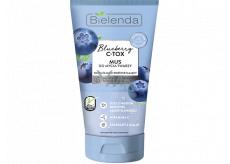 Bielenda Blueberry C-Tox Americká borůvka hydratační čisticí pleťová pěna 135 g