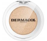 Dermacol Mono 3D Metal oční stíny 02 Metal Champagne 2 g