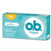 o.b. Original Normal tampony 16 kusů