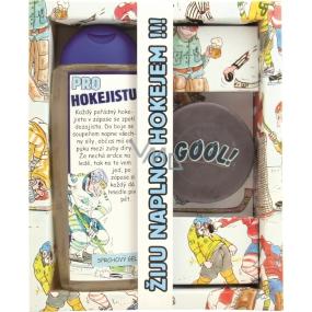 Bohemia Urbanova kosmetika Pro hokejistu sprchový gel 300 ml + ručně vyráběné toaletní mýdlo 50 g, kosmetická sada