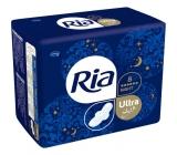 Ria Ultra Silk Night intimní vložky s křidélky 8 kusů