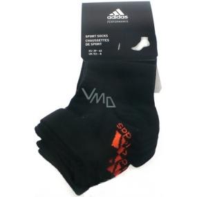 Adidas ponožky černé vel. 39-42 3 kusy