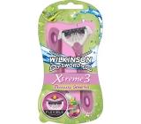Wilkinson Lady Xtreme 3 Beauty Sensitive 3břitý holicí strojek 4 kusy