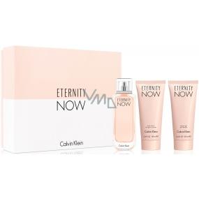 Calvin Klein Eternity Now parfémovaná voda 100 ml + tělové mléko 100 ml + sprchový gel 100 ml, dárková sada