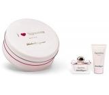 Salvatore Ferragamo Signorina parfémovaná voda pro ženy 30 ml + tělové mléko 50 ml, kosmetická sada