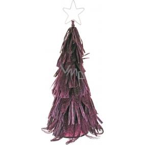 Stromek z abaky fialový 30 cm