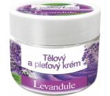 Bione Cosmetics Levandule tělový a pleťový krém pro celou rodinu s univerzálním použití 260 ml