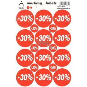 Arch Slevové etikety -30% 253-R