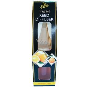 Pan Aroma Reed Diffuser Mandarin & Orange vonné tyčinky, rákos 50 ml