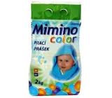 Mimino prací prášek color na barevné prádlo pro děti 2,4 kg