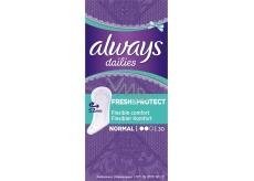 Always Dailies Fresh & Protect Normal s jemnou vůní slipové intimní vložky 30 kusů