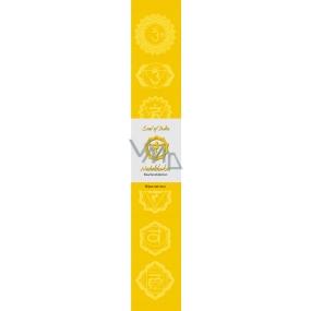 Vonné tyčinky Třetí čakra Žlutá 14 kusů
