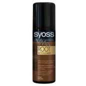 Syoss Root Retoucher sprej na odrosty Hnědý 120 ml