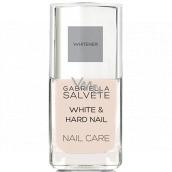 Gabriella Salvete Nail Care White and Hard regenerační bělicí lak na nehty 11 ml