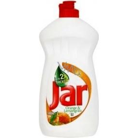 Jar Orange & Lemongrass Prostředek na ruční mytí nádobí 500 ml