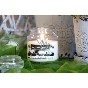 Lima Aroma Dreams Konvalinka aromatická svíčka sklenička s víčkem 300 g